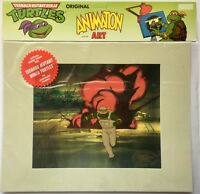Teenage Mutant Ninja Turtles Hand Painted Animation Cel Michaelangelo #2 TMNT