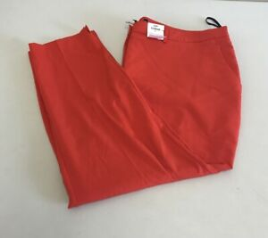 EX Dorothy perkins red Curve trousers Size UK20 EUR48 {R144}