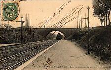 CPA  Combs-la-Ville (S.-et-M.) - Pont du chemin de fer    (292881)