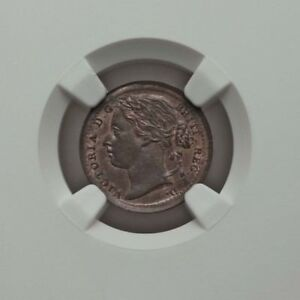 1885 1/3 Third Farthing Victoria MS65 NGC Minor Coin Great Britain