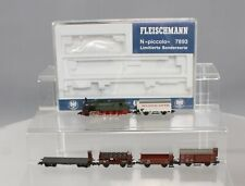 Fleischmann 7893 N KPEV Steam Freight Train Set EX/Box