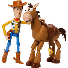 Disney Pixar Toy Story 4 Woody & Bullseye Poseable Figures Adventure Pack -GDB91