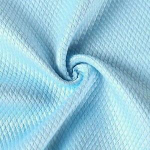 1/5X Wave Pattern Fish Scale Cloth Rag Glass Cleaning Cloth Non-Markin Home J0T0