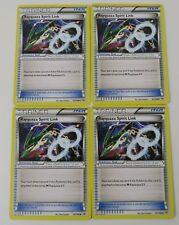 4x 87/108 Rayquaza Spirit Link - Roaring Skies - Pokemon Trading Card - FREE P&P