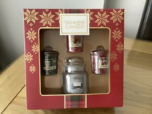 YANKEE CANDLE GIFT SET - NEW IN BOX