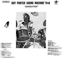 Generation - Roy Sound Machine '94 Porter (2014, CD NEUF)
