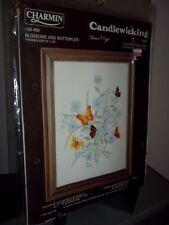 Charmin Candlewicking Blossoms Butterflies Eleanor Engel