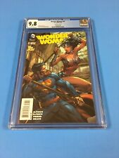 WONDER  WOMAN  #  37  CGC  9.8  Finch  1:100 Variant Cover  BEAUTIFUL BOOK !