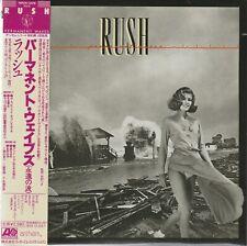 RUSH - PERMANENT WAVES. JAPAN.MINI-LP SLEEVE.SHM-CD