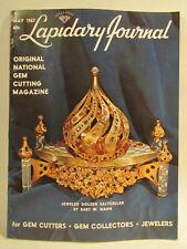 Lapidary Journal Magazine 1967 May Jeweled Golden Sapphire Saltcellar