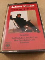 Johnny Mathis : You Light Up My Life : Vintage Cassette Tape Album From 1978