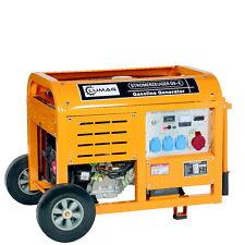 LUMAG Benzin G8E Stromaggregat Generator Stromerzeuger Notstromer 8kW 3x230V