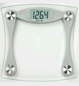 Taylor Glass Digital Bath Scale With LCD Display Bathroom Weight Loss Weighing