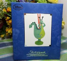 Disney The Reluctant Dragon Sketchbook ornament Limited Edition