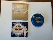 1930's Jack Armstrong Hike-O-Meter premium with Instructions & Mailer