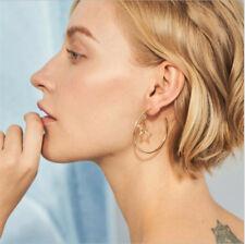 Zinc Alloy Statement Punk Jewelry Vintage Geometric Irregular Earrings for Women