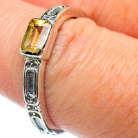Citrine 925 Sterling Silver Ring Size 9 Ana Co Jewelry R38255F