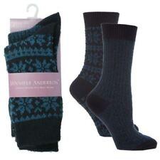 Medias y calcetines de mujer de color principal azul con pack
