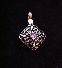 Beautiful Diamond Shape Cremation Pendant Ashes Urn Casket keepsake Memorial