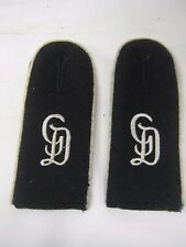WW2 Grossdeutschland shoulder boards Repro
