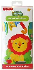 Fisher Price ™ Wall Art Stickers 🦁 Animaux Forêt tropicale Kids Chambre Nursery 🇬 🇧