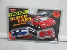Tyco Electric Racing Super Cars Magnum 440-X2 Grand Sport & '60 Vette HO Scale