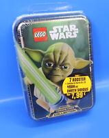 Lego® Star Wars Tin Box Yoda  Limitierte Karte Nr.22 +7 Pack Booster =35 Karten