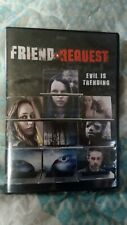 Friend Request (DVD, 2016) SUPERNATURAL HORROR FANTASY!!