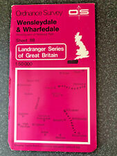 ORDNANCE SURVEY MAP WENSLEYDALE & WHARFEDALE ALL PROCEEDS TO CHARITY
