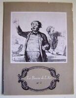 LA BOURSE DE L' ART N° 7 -PETITE TABLE D' EPOQUE LOUIS XV- BROCH. PUBLICITAIRE -