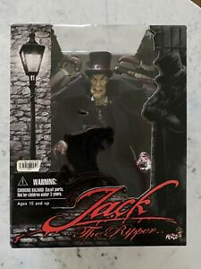 JACK THE RIPPER figure MEZCO; GRIN, TOP HAT, BLOODY GLOVES Version/Variant