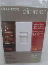 Lutron Dimmer Single Pole  White