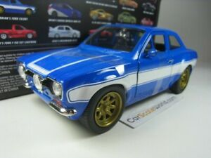 FORD ESCORT RS2000 BRIAN FAST AND FURIOUS 1/24 JADA TOYS