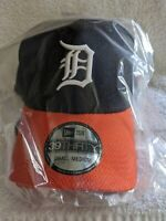 New Era Detroit Tigers 39Thirty S/M Official MLB Cap 2 Tone Flex Hat