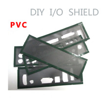 New DIY Motherboard I/O Shield without any opening Blank Backplate PVC material
