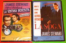 LA SOGA + LA VENTANA INDISCRETA / ROPE + REAR WINDOW -DVD R2- Precintada
