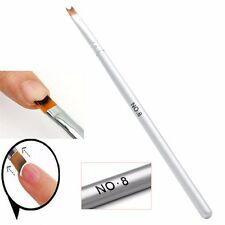 1PC Acrylic UV Gel Nail Painting Drawing French Tips Manicure Pen Brush Design
