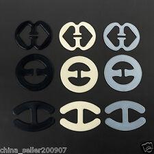 9pcs Bra buckles clips adjust wedding bra strap clip bra concealer belt buckle