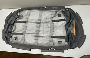 Graco Pack N Play Part Clip On Mesh Bassinet w/Reversible Napper Clips & Poles