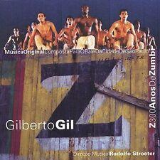 Z: 300 Anos de Zumbi by Gilberto Gil (CD, Oct-2002, Lightyear)