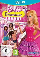 Barbie: Dreamhouse Party (Nintendo Wii U, 2013, DVD-Box)