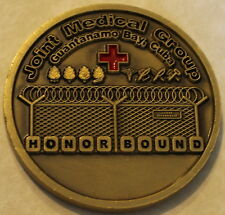 Joint Medical Group Guantanamo Bay Cuba GITMO / GTMO Military Challenge Coin