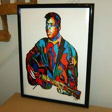 Blind Willie Johnson: Blues Guitar Player: Singer: Guitarist Gospel POSTER w/COA