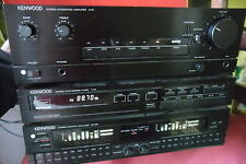 KENWOOD A-51  + TUNER T-31L(DIGIT.)+ EQUALIZ.GRAFICO GE-810- MADE IN JAPAN!!!