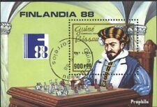 Guinea-Bissau block274 (complete issue) used 1988 FINLANDIA ´88