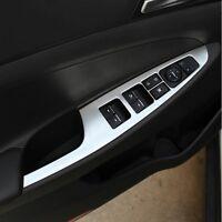 Hyundai Tucson Edelstahl Fensterheber Armlehne Abdeckung Rahmen Blende Cover