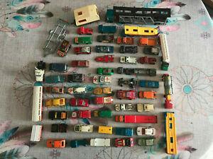 Voiture Miniature Lot de 50 Voitures anciennes Majorette Made in France