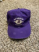 Adidas Purple Los Angeles Lakers  Thrashed Streetwear Dad Cap Strapback