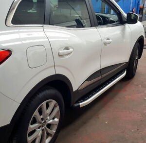 fits for NISSAN QASHQAI +2 2007+ RUNNING BOARDS STEPS BAR SIDE STEP BOARDS