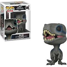 Funko Toys PoP! Movies Jurassic World 2 BLUE Velociraptor 4in. dinosaur Figure #